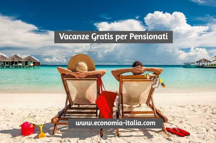 Vacanze gratis per pensionati INPS: come fare la domanda e partecipare