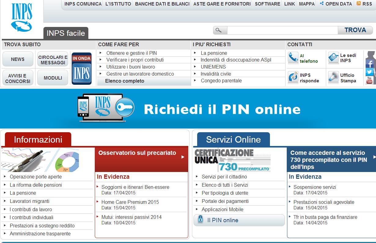 Calcolo Pensioni: INPS online regala brutte sorprese