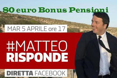 Pensioni: 80 euro alle pensioni minime di aumento