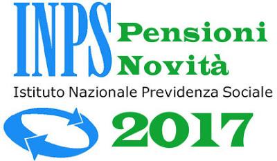 novità riforma pensioni 2017