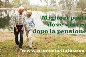 Dove trasferirsi in pensione con 500 euro al mese