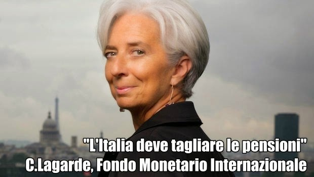 FMI: Italia deve tagliare le pensioni