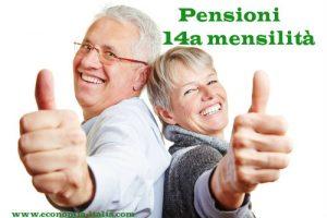 Pensioni Quattordicesima Luglio 2019: Chi ne ha Diritto e Quanto é l'Importo