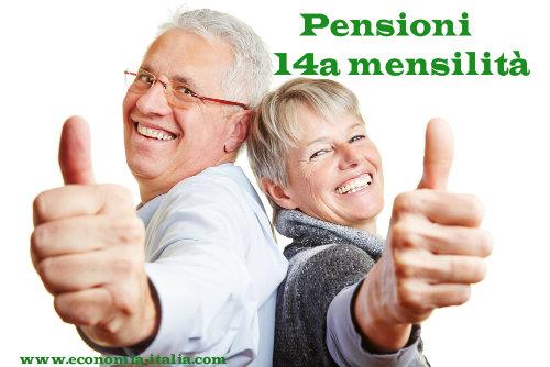 pensioni 14a mensilità