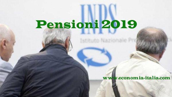 novità pensioni 2019