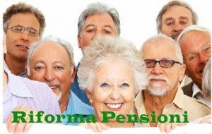 Novità Riforma Pensioni 2018