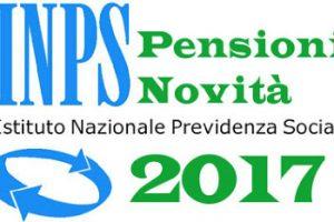 Pensioni a 67 anni Novità Novembre 2017