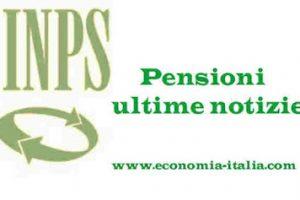 Riforma Pensioni ultima ora Ottobre 2017
