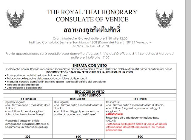 andare a vivere in thailandia informazioni utili
