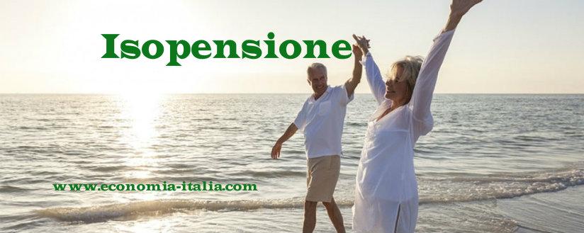 Isopensione 2018 calcolo della pensione anticipata