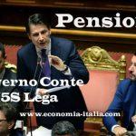 Pensioni Ultime Notizie Governo Conte QUOTA 100 e Prepensionamento